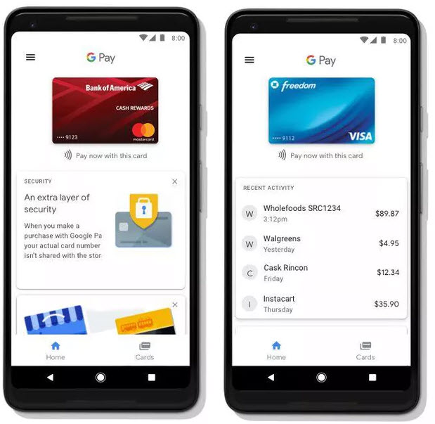 google pay mobile